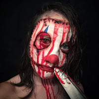 killer bloody clown mask