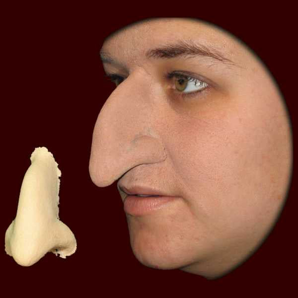 witch nose latex halloween appliance