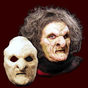 witch hag latex halloween mask