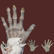 Zombie hand prosthetic hand cover