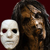 Rotten zombie face makeup FX mask