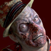 Stage 3 rotting zombie prosthetic mask
