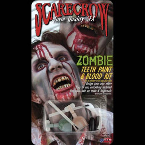 Zombie mouth makeup kit