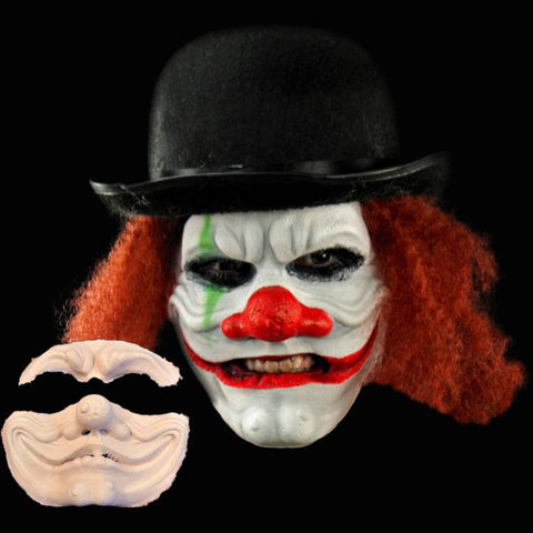 Scary clown Halloween mask