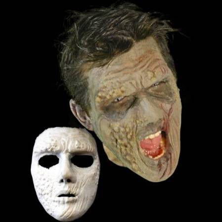 pox disease latex halloween mask