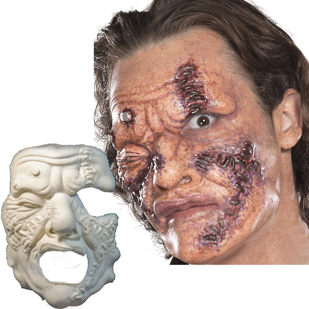 Dr Stitches halloween prosthetic mask