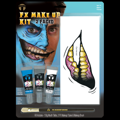 Big Mouth 2 Faced  Makeup kit