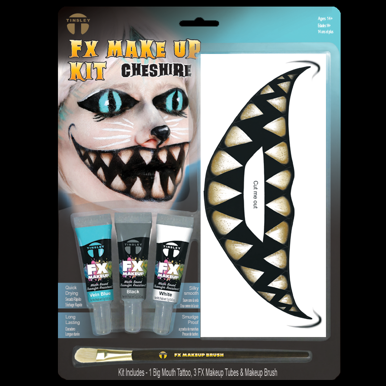 Big Mouth Cheshire  Makeup kit
