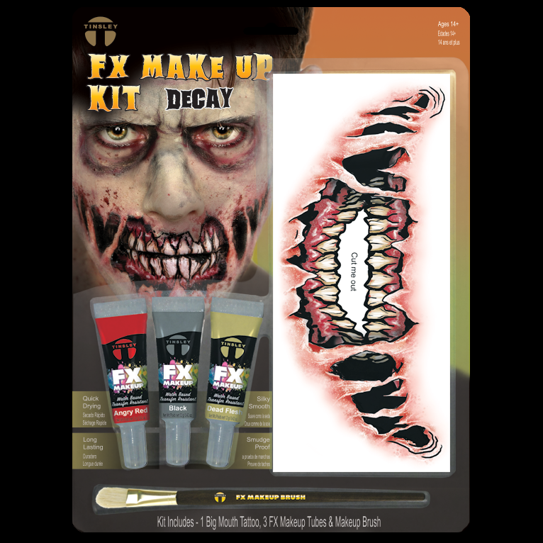 Big Mouth Decay Makeup kit