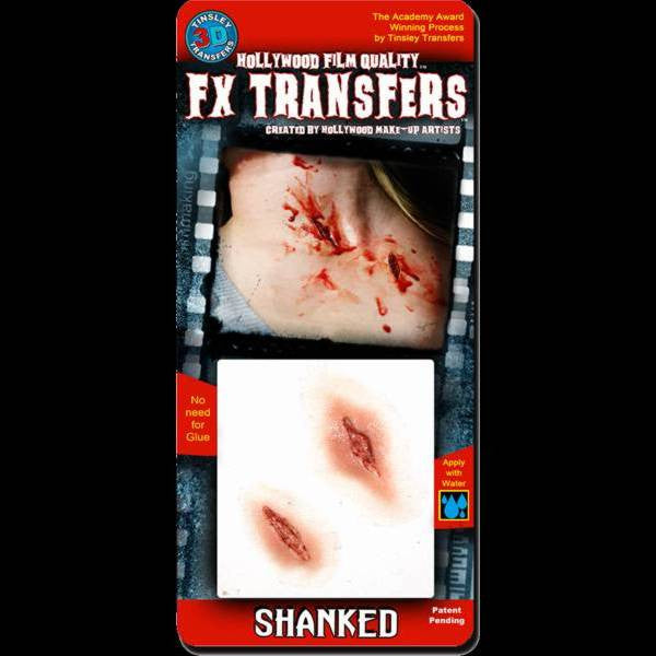 shanked wound 3d fx transfers makeup