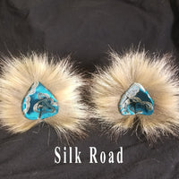 Furry Ears -Natural- Teardrop Style