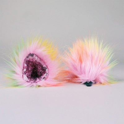 Sparkle Sherbet clip-on ears