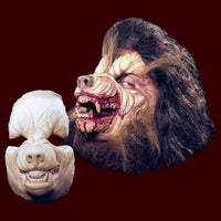 werewolf foam latex halloween makeup appliance mask