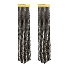 Load image into Gallery viewer, Nubia earrings Black