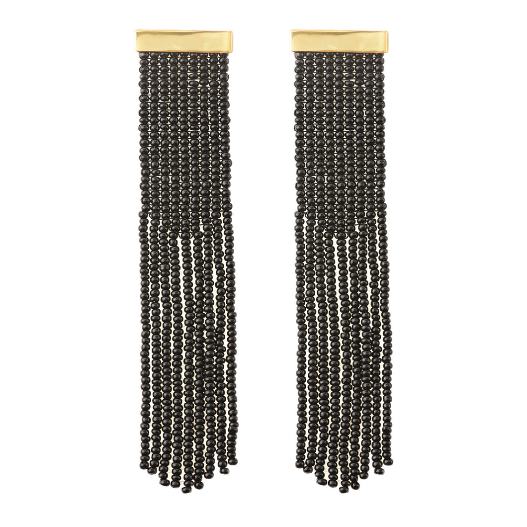 Nubia earrings Black