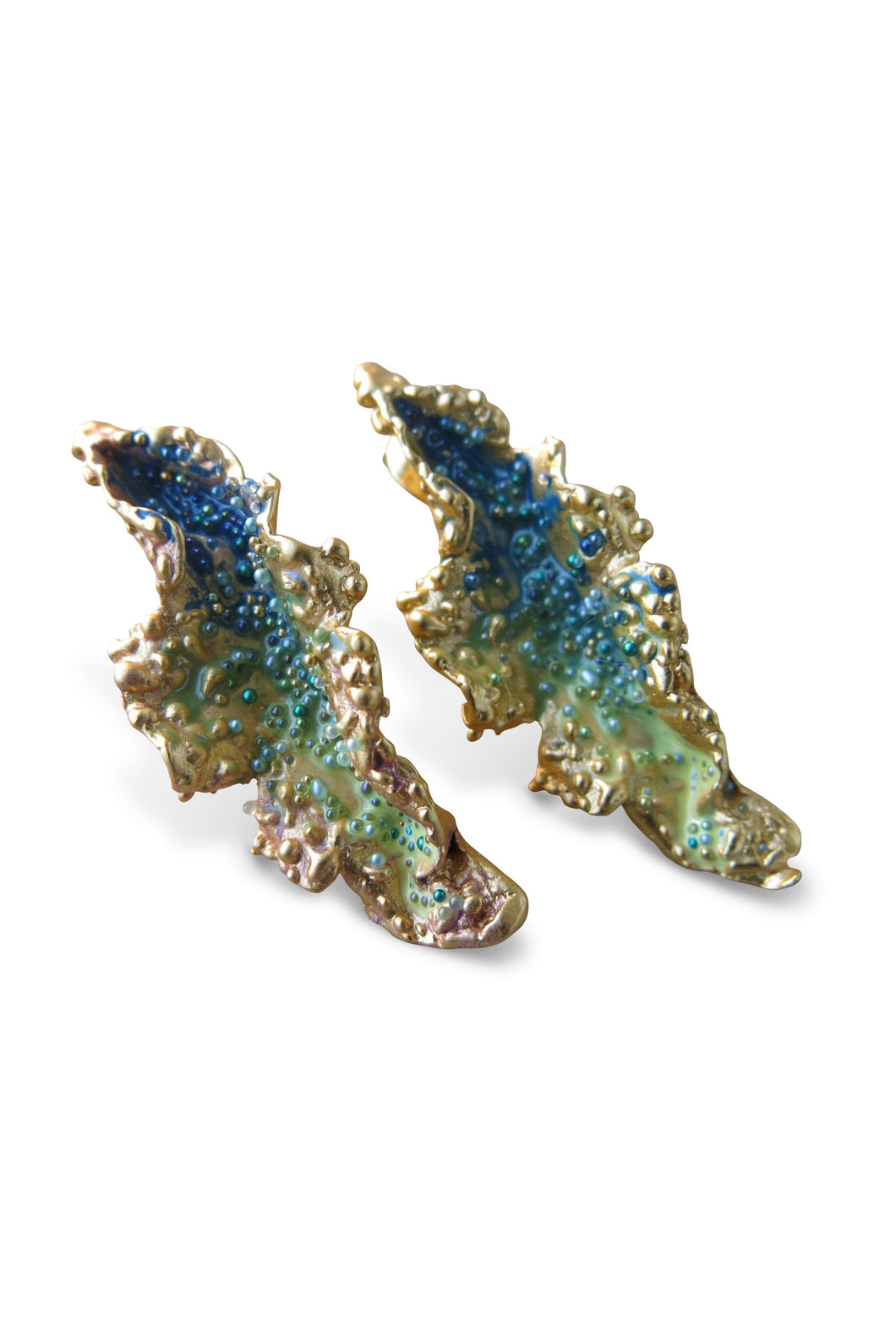 Cristatella earrings