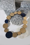 Load image into Gallery viewer, Kaia Necklace Circles