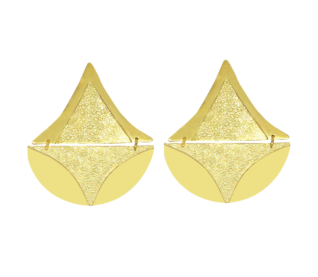 Tomaep Gold earrings