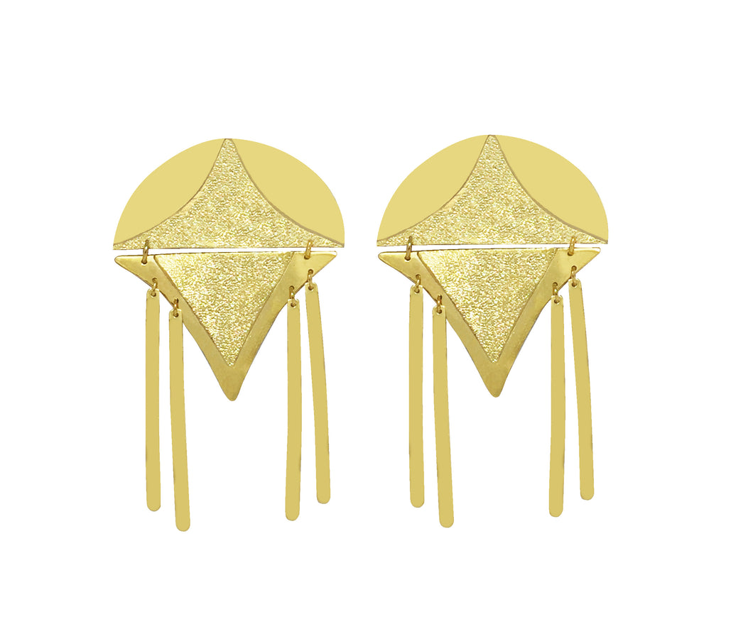Nabox Gold Earrings