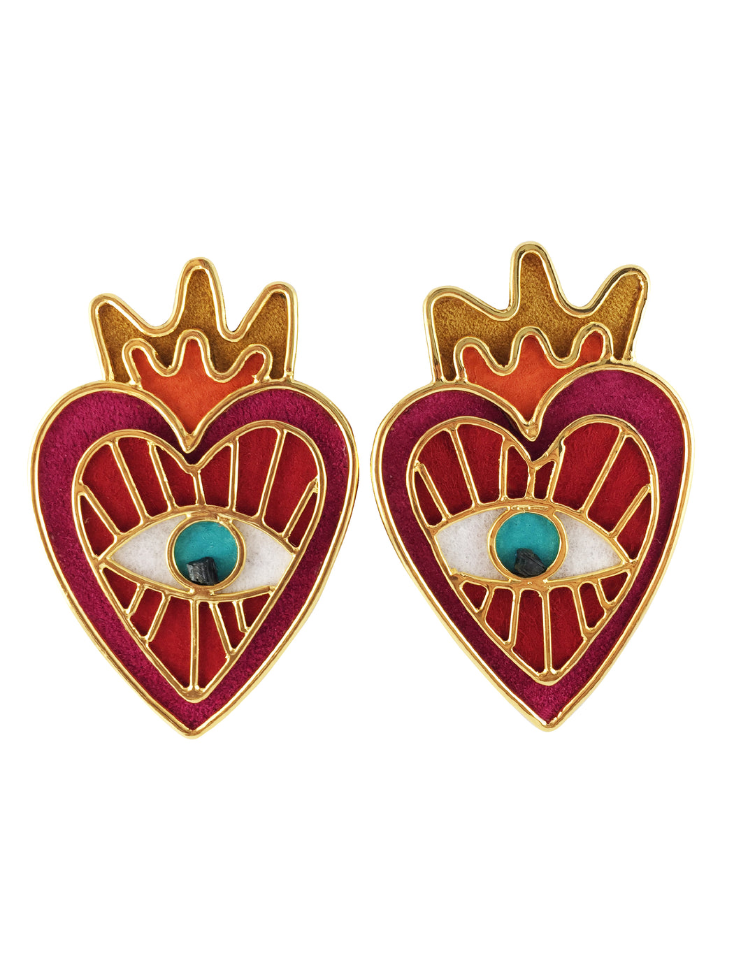 Milagritos del Corazon earrings