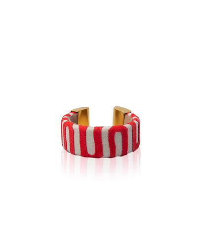 Ruby Bajo Kuna bangle