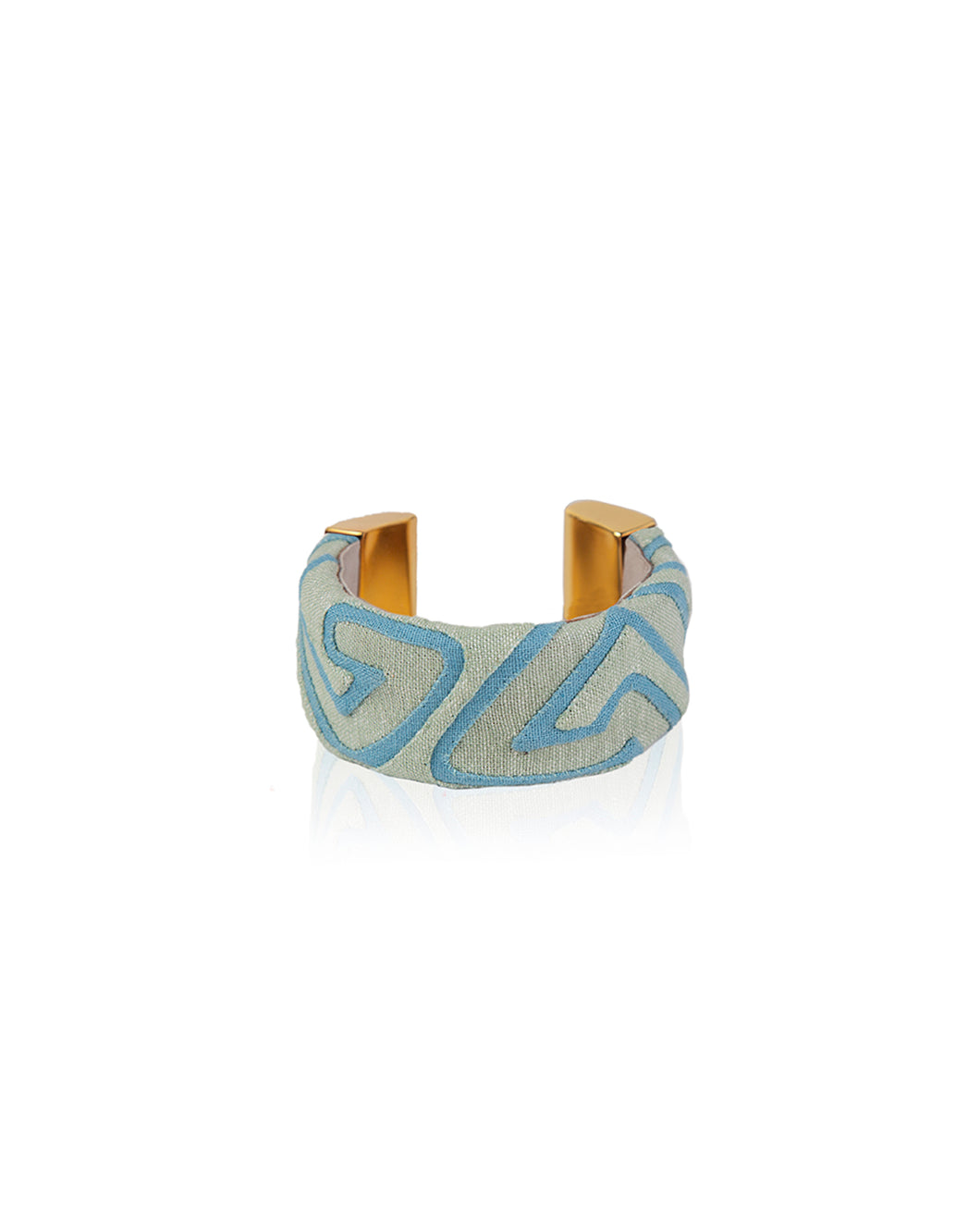 Seafoam Bajo Kuna bangle