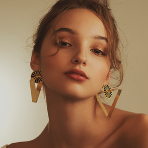 Triangulars Naxchi earrings