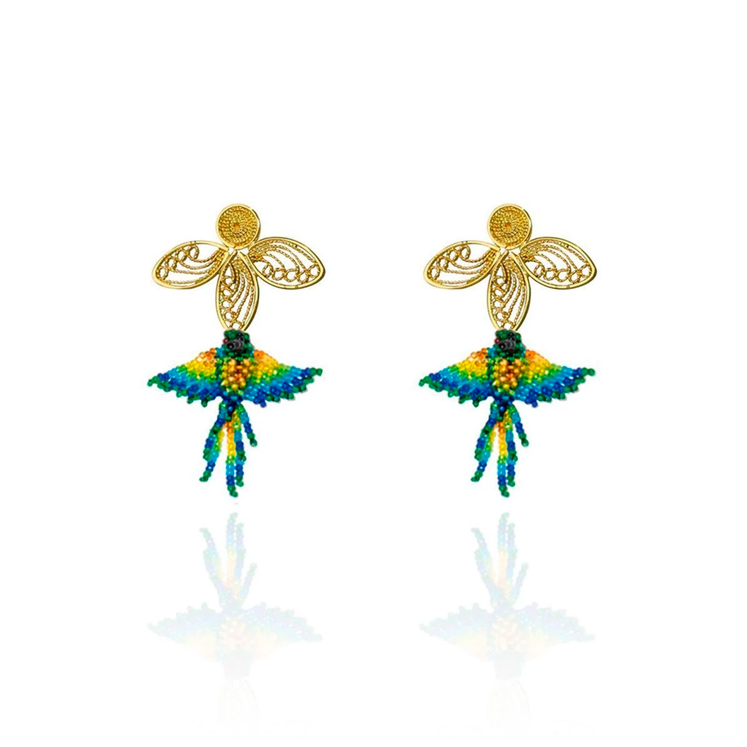 Colibri Nectar earrings