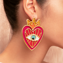 Load image into Gallery viewer, Milagritos del Corazon earrings