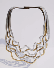 Load image into Gallery viewer, Curves Duo necklace large