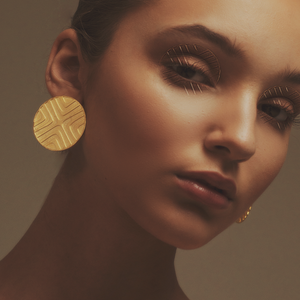 Stud Exta Gold earrings