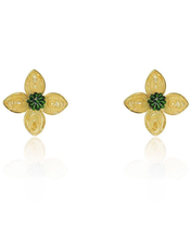 Load image into Gallery viewer, Filigree Colibri Flower earrings