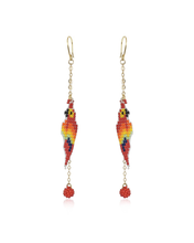Load image into Gallery viewer, Guacamayita Tropical earrings