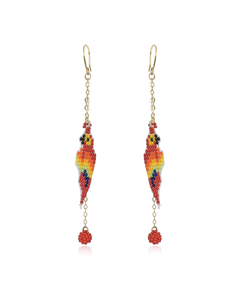 Guacamayita Tropical earrings