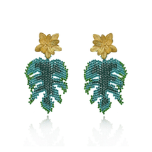 Load image into Gallery viewer, Hoja Rota earrings