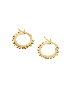 Mini tikuna hoops - earrings