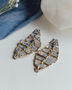 Ifrane Moon Rock earrings