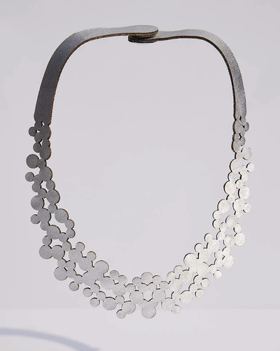 Abstraction Bubbles necklace