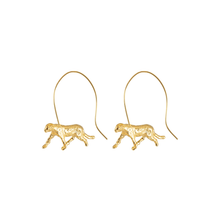 Load image into Gallery viewer, Jaguar Spiral earrings