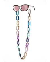 Load image into Gallery viewer, Rainbow Eyeglasses chain