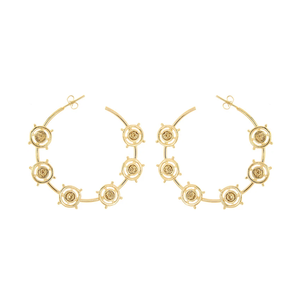 Revel Hoops - earrings