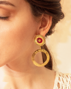 Che Che Colé - Double Salsa earrings