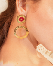 Load image into Gallery viewer, Che Che Colé - Double Salsa earrings