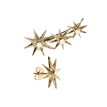 Load image into Gallery viewer, Star Triology earcuff - earrings