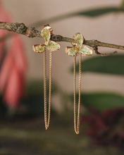 Load image into Gallery viewer, Weed Leaf & Liana Earrings