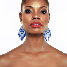 Load image into Gallery viewer, Water Bidika earrings