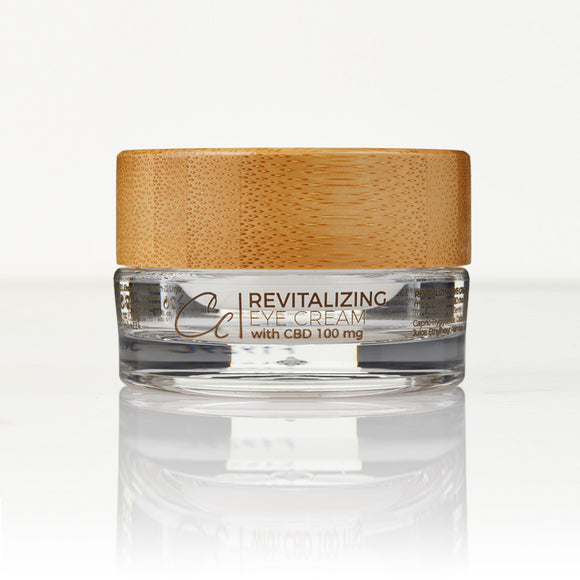 Revitalizing Eye Cream with CBD by Christina Cindrich