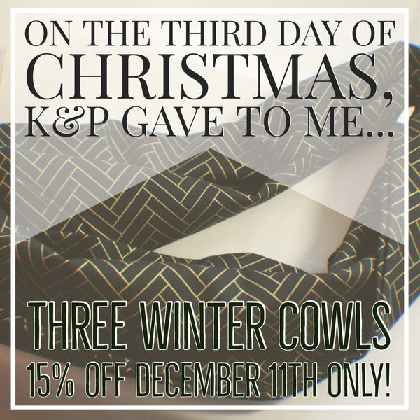 12 Days of Christmas - Day Three!