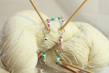 Load image into Gallery viewer, Spring Flowers Beaded Knitting Row Counter