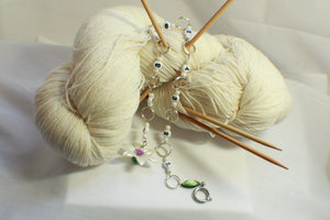 Lovely Lily Beaded Knitting Row Counter